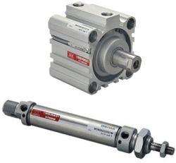 Zylinder in vielen verschiedenen Größen: vom Normzylinder bis zum Kurzhubzylinder
